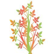 Stock Photo of Art Tree Silhouette