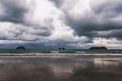 Beach at Quepos, Costa Rica - stock photo