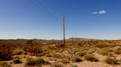 The Arizona desert in South West USA . Stock Footage