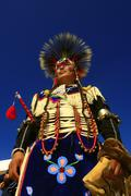 Stock Photo of Feast of the Amerindian nations of pow wow