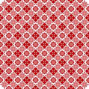 Seamless wallpaper - stock illustration