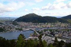 Bergen, Norway - stock photo