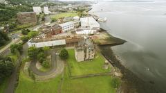 Newark Castle -Port Glasgow Stock Photos