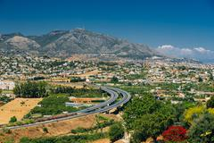 Stock Photo of Mijas in Malaga, Andalusia, Spain. Cityscape