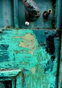 Beauty colors of Rust - stock photo
