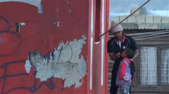 Township tuck shop,South Africa Stock Footage