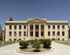Stock Photo of Inyo County Courthouse