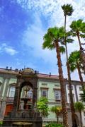 Las Palmas de Gran Canaria Vegueta houses Stock Photos