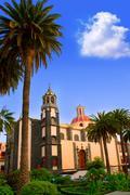 Stock Photo of La Orotava Concepcion church red dome