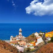 Basilica de Candelaria in Tenerife at Canary Islands Stock Photos