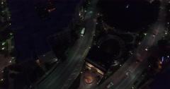 Atlantic Station Aerial 21 - stock footage