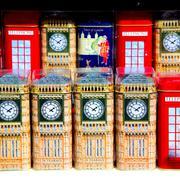 Souvenir      in england london obsolete  box classic british icon Stock Photos