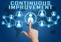 Stock Illustration of Continuous Improvement