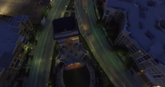 Atlantic Station Aerial 5 Stock Footage