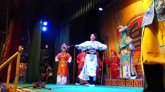 Chinese Opera. - stock footage