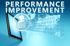 Performance Improvement Stock Illustration