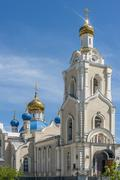 The temple in honor of Our Lady of Kazan , Rostov - on - Don . Stock Photos