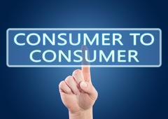 Stock Illustration of Consumer to Consumer