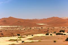 Sossusvlei, Namibia - stock photo