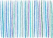 Stock Illustration of irregular blue purple lines pattern over white