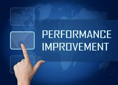 Stock Illustration of Performance Improvement