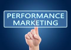 Performance Marketing Stock Illustration