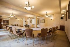 Meeting room in luxury hotel Stock Photos