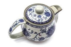 Chinese tea pot - stock photo