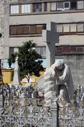 Havana, Cuba, cemetary, Necropolis Cristobal Colon Stock Photos