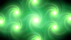 Twirl flare pattern green blur Stock Footage