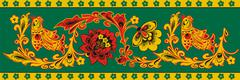 decorative patterns - stock illustration