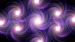 Twirl flare pattern line fade out Stock Footage