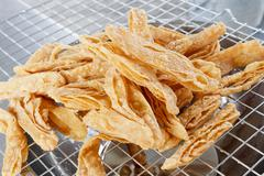 Crispy roti - stock photo