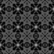 Grey Abstract pattern a black backgroun Stock Illustration