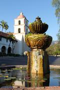 Santa Barbara Mission - stock photo