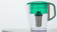 Water filter Stock Footage
