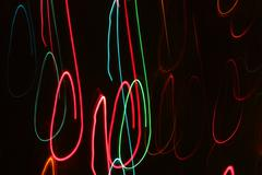 Abstract Motion Lights Stock Photos