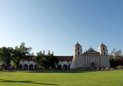 Stock Photo of Santa Barbara Mission