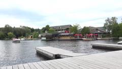 Huntsville, Ontario waterfront Stock Footage