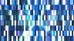 Broadcast Twinkling Hi-Tech Small Bars, Blue, Abstract, Loopable, HD Stock Footage