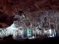 Tham Khao Bin cave Stock Photos
