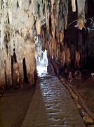Tham Khao Bin cave - stock photo