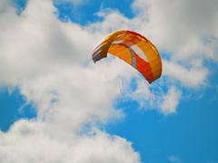 Parachute kite Stock Photos