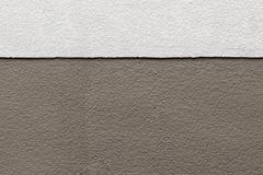 Two Tones Brown Texture on Concrete Wall Stock Photos