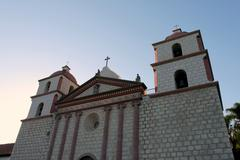 Santa Barbara Mission - stock photo
