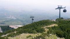 Tatra Mountains in Slovakia Stock Footage