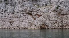 Zrmanja is a river in northern Dalmatia, Croatia Stock Footage