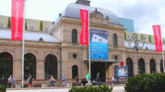 Festspielhaus Baden-Baden - stock footage