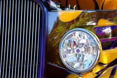 Hot Rod Show Car Light - stock photo