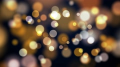 Stock Video Footage of ambient abstract bokeh particles background